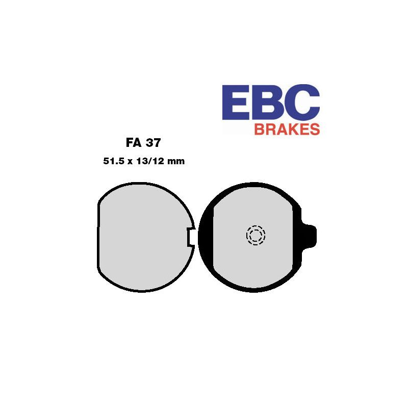 Frein - Plaquette - EBC - FA-037 - Standard - Kawasaki