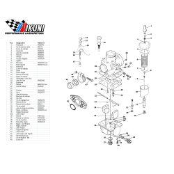 Carburateur - VM24/473 - Liste de pieces