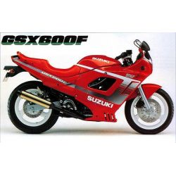 GSX600F - GSX750F - 1998-2001 - RTM - N° 126-2 - Version PDF -