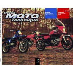 XS750 / XS850 - GT50 - Revue Technique Moto - RTM - N° 36 - Version PAPIER