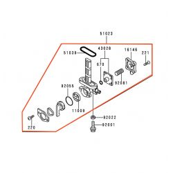 Robinet - essence - GTR1000 - 51023-1302