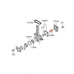 Robinet essence - Ressort de membrane - 92081-1171