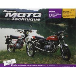 XL125 / XR125 - XLR125 - GS750 - Revue Technique Moto - RTM - N° 34 - Version PAPIER