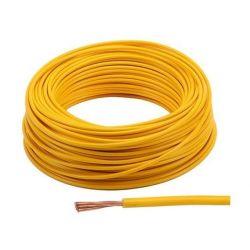 Cable - 2.5mm2 - Fil electrique - JAUNE - 3 metres