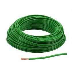 Cable - 2.5mm2 - Fil electrique - VERT - 3 metres