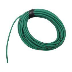 Cable - 0.75mm2 - Fil electrique - Vert/Noir - 4 metres