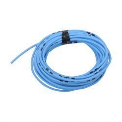 Cable - 0.75mm2 - Fil electrique - Bleu/Noir - 4 metres