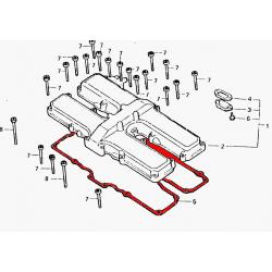 Couvercle culasse - cache culbuteur - Joint - CBX650/CB650SC