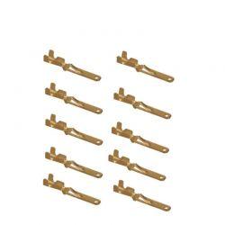 Cosse Male a sertir - ML110 - (x10) - plate 2mm - pour connecteur