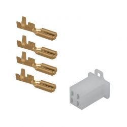 Connecteur - Femelle - 4 broches ( ML110) + cosse