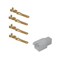 Connecteur - Male - 4 broches ( ML110) + cosse