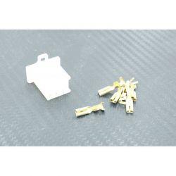 Connecteur - Femelle - 6 broches ( ML110) + cosse