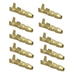 Cosse - Male a sertir - (x10) - Ronde 4 mm -