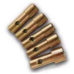 Bequille - roue avant - JMP - douille de fourche - 19-21-21-24-27 mm