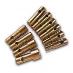 Bequille - roue avant - JMP - douille de fourche - 13-15-16.5-17.18-19-21-21-24-27 mm