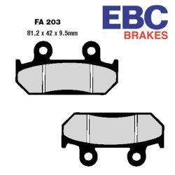 Frein - Plaquette - EBC - Ceramique - FA-203 - Standard