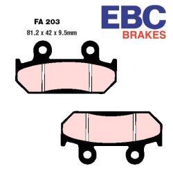 Frein - Plaquette - EBC - Metal Fritté - FA203HH - Standard