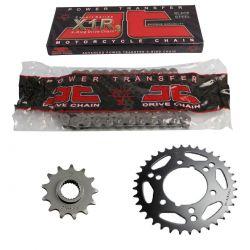 Transmission - Kit chaine - Ouvert - 530-100-18-48 - JT - Acier