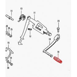 Selecteur vitesse - caoutchouc - CB350 - CB450