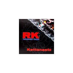 Kit chaine - Ouvert - 530-100/16/36 - Noir - RK-KRX - CB400N