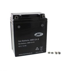 Batterie - 12v - YB12A-B - JMT - GEL - 134x80x160mm