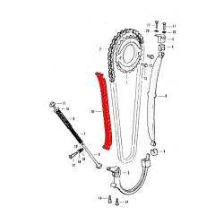 Distribution - tendeur de chaine - Cb350 - CB400 Four