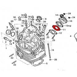 Carburateur - isolant - CB/XL 125 ....