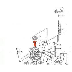 Carburateur - Boisseau - 5DM-14112-00 - FZS600 FAZER - XVZ1300....