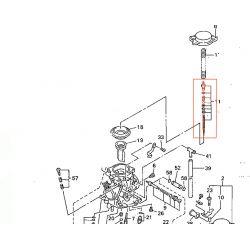 Carburateur - Kit Aiguille de boisseau - 5DM-1490J-00 - FZS600 FAZER - ... -