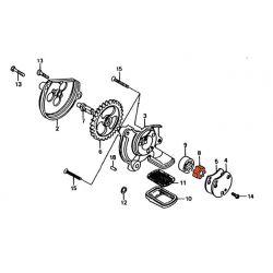 Moteur - Pompe a huile - Pignon - CB125T/TD/C - CM125/185/200/250