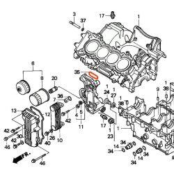 Moteur - Joint torique - ø50.0 x2.50mm - CBR600 - (PC25)