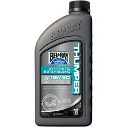Huile moteur - BEL-RAY - Thumper - 15w50 - Synthese - 1 Litres