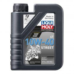 Huile moteur - LIQUI MOLY - Street - 10W40 - Synthese - 1 Litre