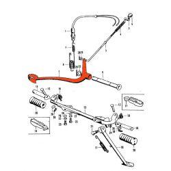 Frein - pedale de frein arriere - SL125