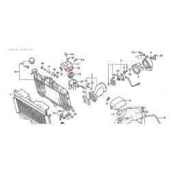 Radiateur - Circuit d'eau - Joint de calorstat/Thermostat - 54x2mm - (x1)