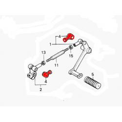 Selecteur de vitesse - caoutchouc de biellette - (x1)