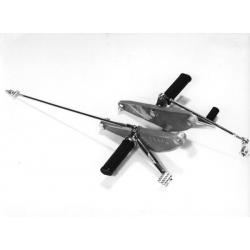 Platine repose Pied - position reculée - RAASK - CB250N - CB400N