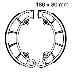 Frein - Machoire - EBC - H316