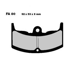 Frein - Plaquette - EBC - FA-080/2