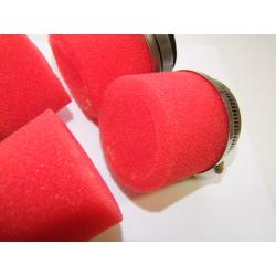 Filtre a air - cornet mousse Rouge