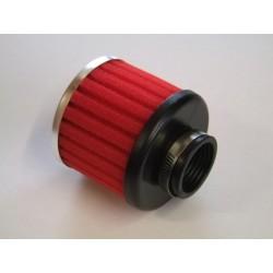Filtre a air - ø 35mm - Mousse - Rouge - Cornet - (x1)