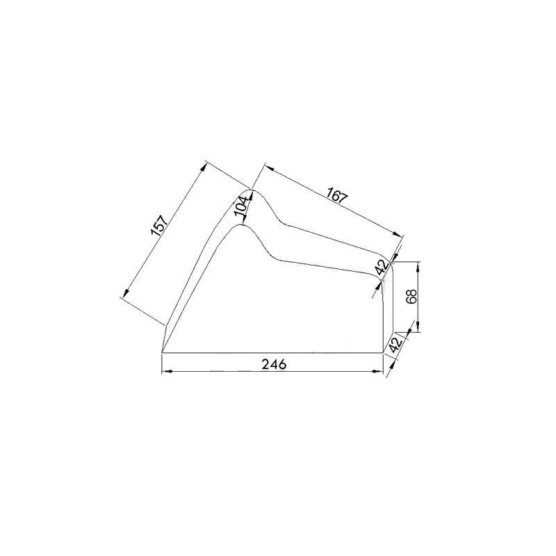 Moto : Housse de Protection - Bache Interieure - Taille XL - 246x104x157cm