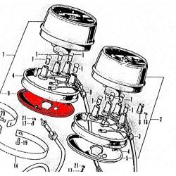 Compte tour - Coupelle de fixation sous - (x1)