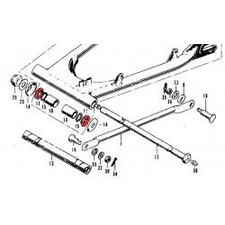Bras oscillant - Rondelle d'appui bague - (x1)
