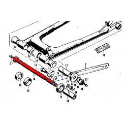 Bras oscillant - axe (x1) - CB350K