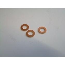 Rondelle cuivre de Carter inférieur - CB750 - CB900 - CB1100 - (x3)