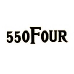 CB550 Four - Autocollant de cache lateral