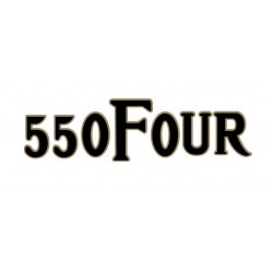 CB550 Four - Autocollant de cache lateral - origine Honda