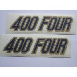 Decoration - Autocollant - CB400F (x2)