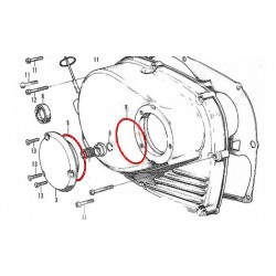 Carter Droit - Joint torique - ø 63.5x67.5x2.0mm  (x1)